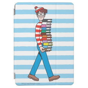 Where's Waldo Carrying Stack Of Books Ipad Air Cover by WheresWaldo at Zazzle