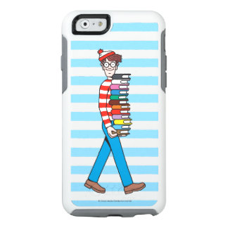 Where's Waldo Carrying Stack of Books OtterBox iPhone 6/6s Case