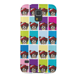 Where's Waldo Colorful Pattern Galaxy S5 Cover
