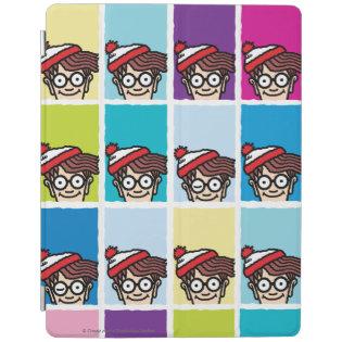 Where's Waldo Colorful Pattern iPad Cover