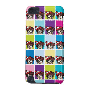 Where's Waldo Colorful Pattern iPod Touch 5G Cases