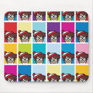 Where's Waldo Colorful Pattern Mouse Pad