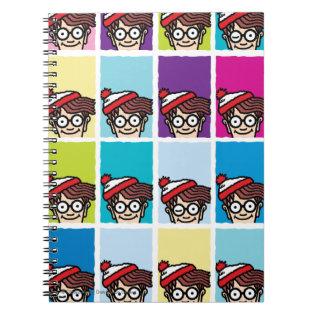 Where's Waldo Colorful Pattern Notebooks