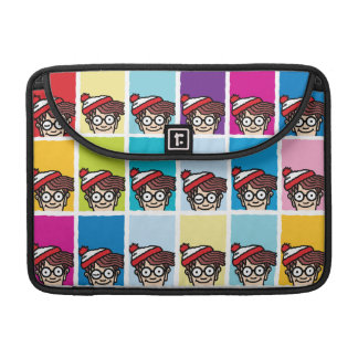 Where's Waldo Colorful Pattern Sleeve For MacBook Pro
