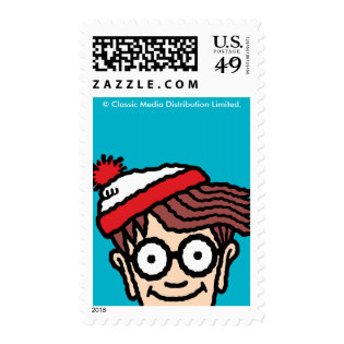 Where's Waldo Colorful Pattern Stamp