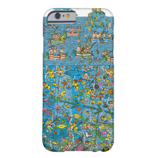 Where's Waldo Deep Sea Divers Barely There iPhone 6 Case