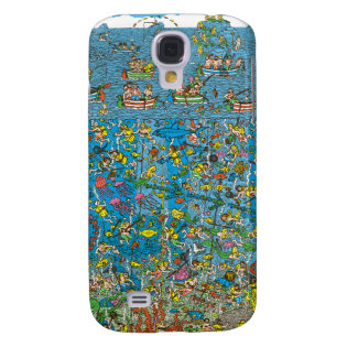 Where's Waldo Deep Sea Divers Galaxy S4 Covers