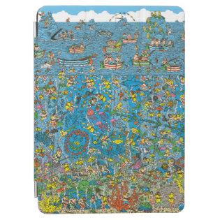 Where's Waldo Deep Sea Divers iPad Air Cover