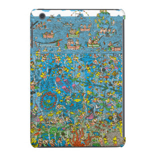Where's Waldo Deep Sea Divers iPad Mini Cover