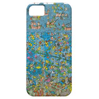 Where's Waldo Deep Sea Divers iPhone 5 Covers