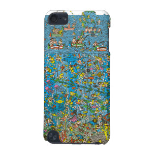 Where's Waldo Deep Sea Divers iPod Touch 5G Covers