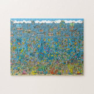 Where's Waldo Deep Sea Divers Jigsaw Puzzle