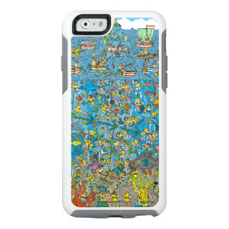 Where's Waldo Deep Sea Divers OtterBox iPhone 6/6s Case
