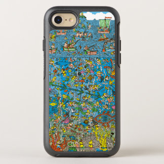 Where's Waldo Deep Sea Divers OtterBox Symmetry iPhone 7 Case