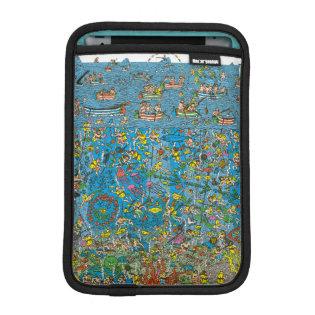 Where's Waldo Deep Sea Divers Sleeve For iPad Mini