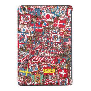 Where's Waldo Enormous Party iPad Mini Retina Covers