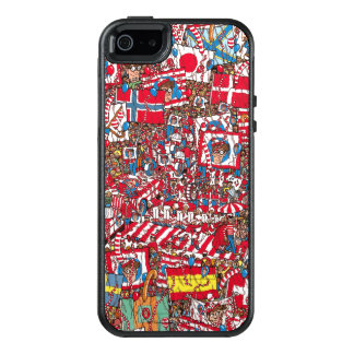 Where's Waldo Enormous Party OtterBox iPhone 5/5s/SE Case