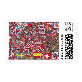 Where's Waldo Enormous Party Postage