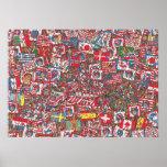 Where's Waldo Enormous Party Poster