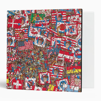 Where's Waldo Enormous Party Vinyl Binders