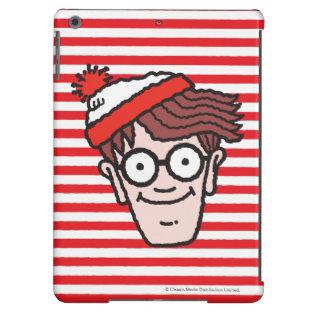 Where's Waldo Face iPad Air Case