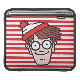 Where's Waldo Face iPad Sleeve