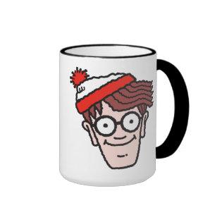 Where's Waldo Face Ringer Coffee Mug