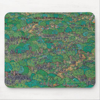 Where's Waldo | Fighting Foresters Mouse Pad