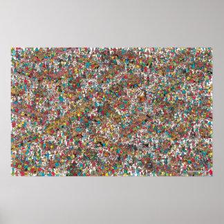 Where's Waldo | Gobbling Gluttons Poster