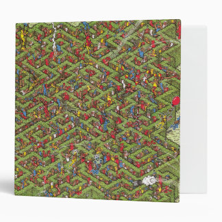 Where's Waldo Great Escape 3 Ring Binder
