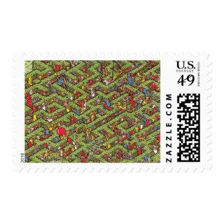 Where's Waldo Great Escape Postage