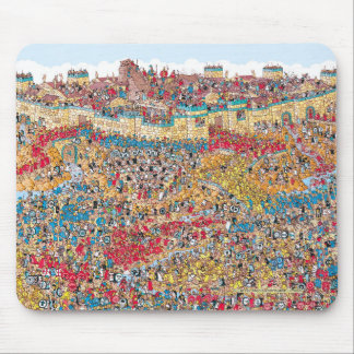 Where's Waldo | Horseplay in Troy Mouse Pad