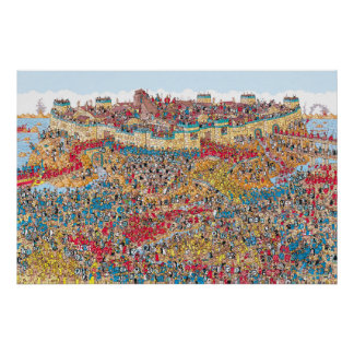 Wheres Wally Posters | Zazzle