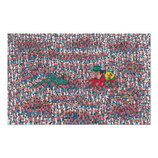 Where's Waldo | Land of Waldos Poster