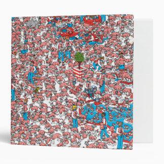 Where's Waldo Land of Woofs Binder