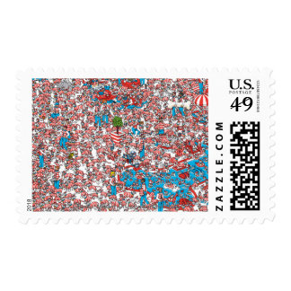 Where's Waldo Land of Woofs Stamp