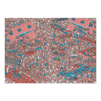 Where's Waldo Land of Woofs Poster
