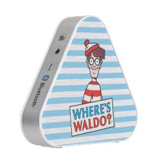 Where's Waldo Logo Speaker