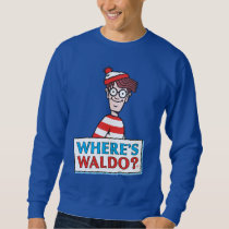Where's Waldo Logo Sweatshirt