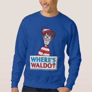Where's Waldo Logo Sweatshirt