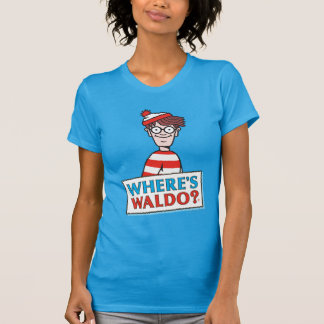 Where's Waldo Logo T-Shirt