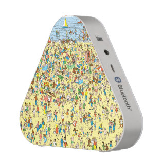 Where's Waldo on the Beach Bluetooth Speaker