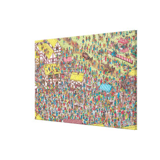 Where's Waldo | Once Upon a Saturday Morning Canvas Print