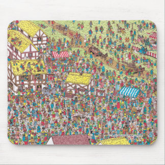 Where's Waldo | Once Upon a Saturday Morning Mouse Pad