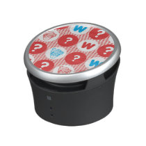 Where's Waldo Red, White and Blue Pattern Speaker