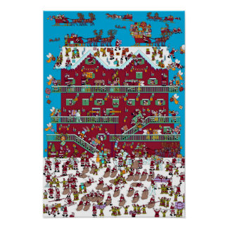Wheres Wally Posters   Zazzle