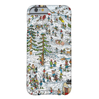 Where's Waldo Ski Slopes Barely There iPhone 6 Case