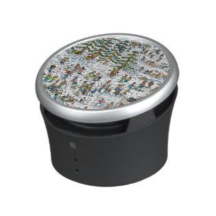 Where's Waldo Ski Slopes Bluetooth Speaker