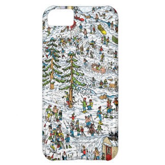 Where's Waldo Ski Slopes Cover For iPhone 5C