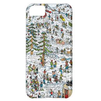 Where's Waldo Ski Slopes Cover For iPhone 5C